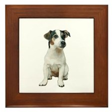 Jack Russell T (A) Framed Tile