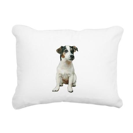 Jack Russell T (A) Rectangular Canvas Pillow