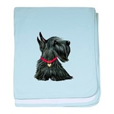 Scottish Terrier 1 baby blanket