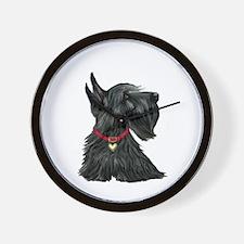 Scottish Terrier 1 Wall Clock