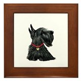Scottish terrier Framed Tiles