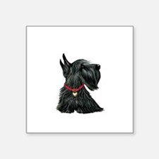 "Scottish Terrier 1 Square Sticker 3"" x 3"""