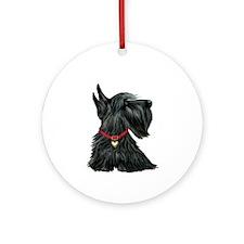 Scottish Terrier 1 Ornament (Round)