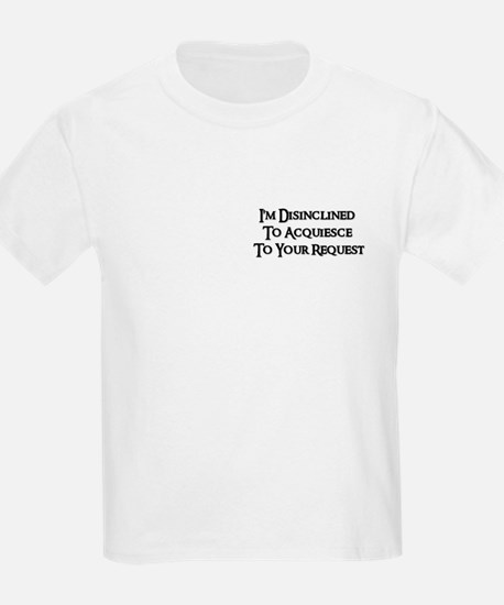DISINCLINED Kids T-Shirt