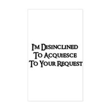 DISINCLINED Rectangle Decal