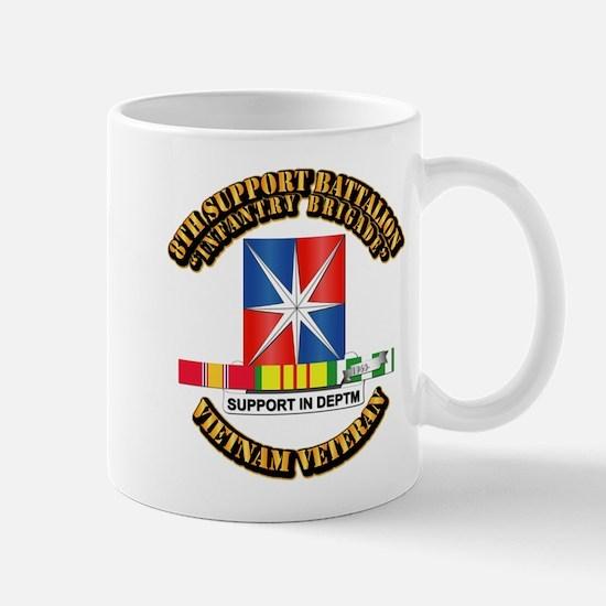 8th Support Bn w SVC Ribbon Mug