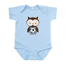 Soccer Ball Owl Infant Bodysuit