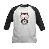 Boys owl Baseball Jersey