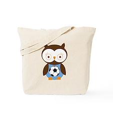 Soccer Ball Owl Tote Bag