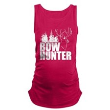 Bow hunter buck Maternity Tank Top