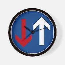 Two Way Wall Clock