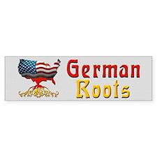 American German Roots Bumper Bumper Sticker