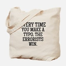 Errorists Tote Bag