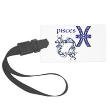 Pisces Luggage Tag