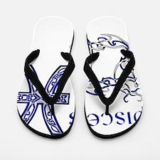Pisces Flip Flops