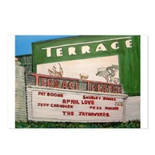 Drive In Theater Postcards (Package of 8)