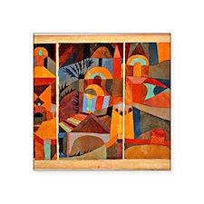 "Klee - Temple Gardens Square Sticker 3"" x 3"""