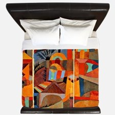 Klee - Temple Gardens King Duvet