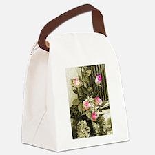 Wedding Bouquet Canvas Lunch Bag