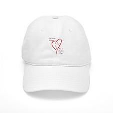 Shiba Inu Heart Belongs Baseball Cap