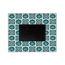 TEAL LOTUS Picture Frame