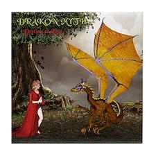 Drakon Myth, Destiny Of Love - Tile Coaster