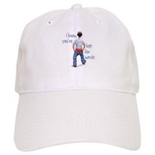Youth with Underwear Showing Baseball Cap