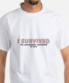 I Survived The Government Shutdown of 2013 T-Shirt
