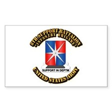 8th Support Battalion w Text Decal