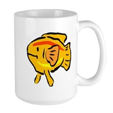 Cartoon Goldfish Mugs