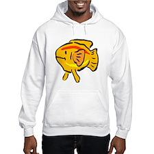 Cartoon Goldfish Hoodie