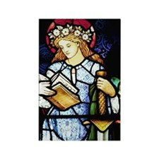 St Catherine of Alexandria Rectangle Magnet