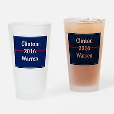 Clinton Warren 2016 Drinking Glass
