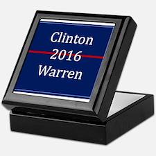Clinton Warren 2016 Keepsake Box