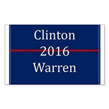 Clinton Warren 2016 Decal