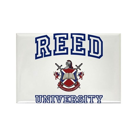 REED University Rectangle Magnet