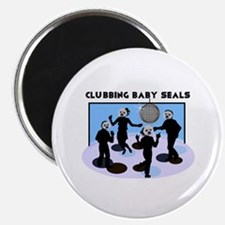 Clubbing Seals Magnet