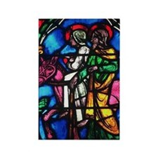 The Flight to Egypt Rectangle Magnet