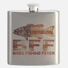 BASS FISHING USA Flask