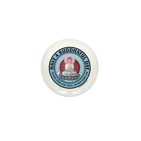 """Mini """"Have A Buddhaful Day"""" Button (10 pack)"""