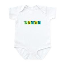 GENIOUS T-SHIRT FUNNY SCIENCE Infant Bodysuit