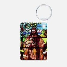 Jesus Good Shepherd Keychains