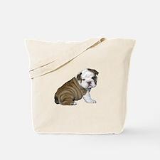 English Bulldog Puppy1 Tote Bag