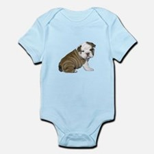 English Bulldog Puppy1 Infant Bodysuit