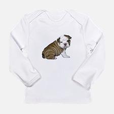 English Bulldog Puppy1 Long Sleeve Infant T-Shirt