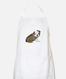 English Bulldog Puppy1 Apron