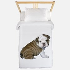 English Bulldog Puppy1 Twin Duvet