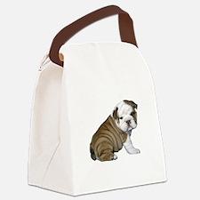English Bulldog Puppy1 Canvas Lunch Bag