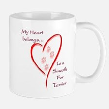 Smooth Fox Heart Belongs Mug