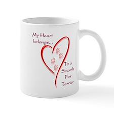 Smooth Fox Heart Belongs Mug